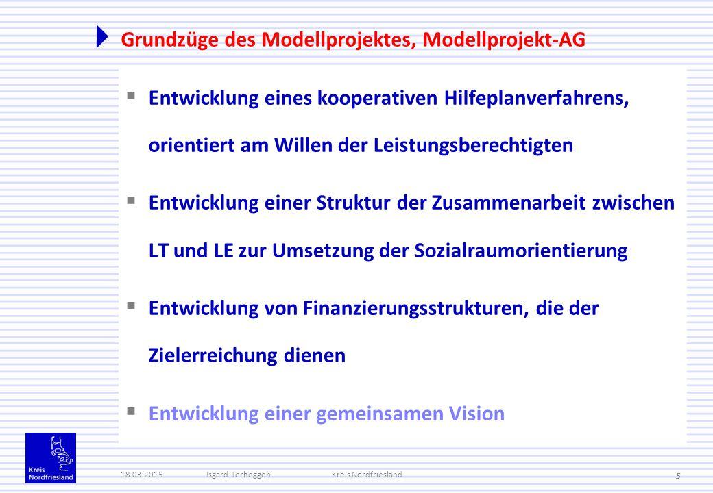 Grundzüge des Modellprojektes, Modellprojekt-AG