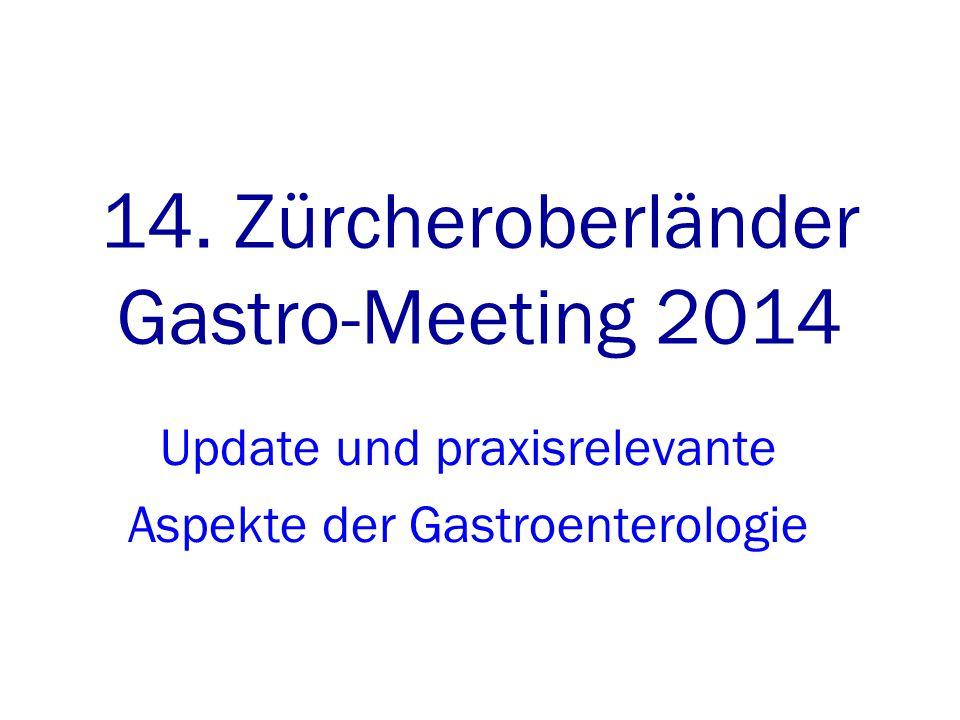 14. Zürcheroberländer Gastro-Meeting 2014