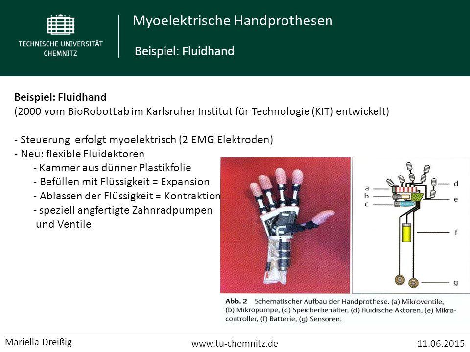 Beispiel: Fluidhand Beispiel: Fluidhand