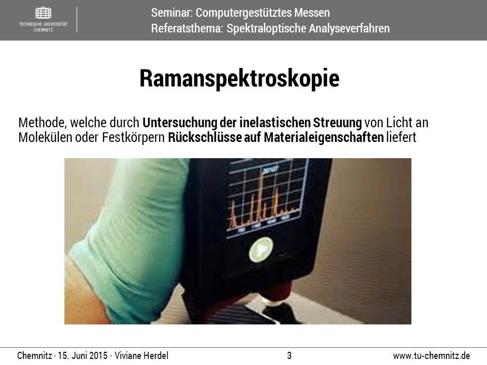 Ramanspektroskopie