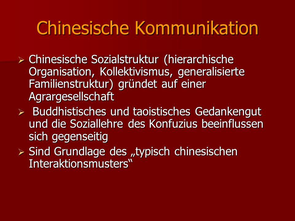 Chinesische Kommunikation