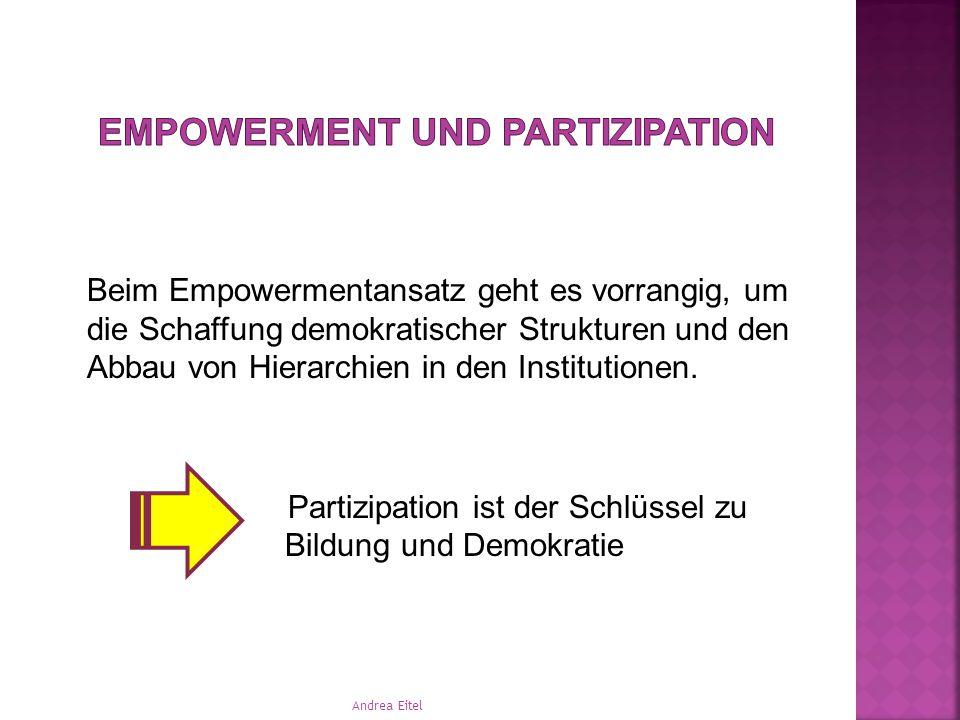 Empowerment und Partizipation