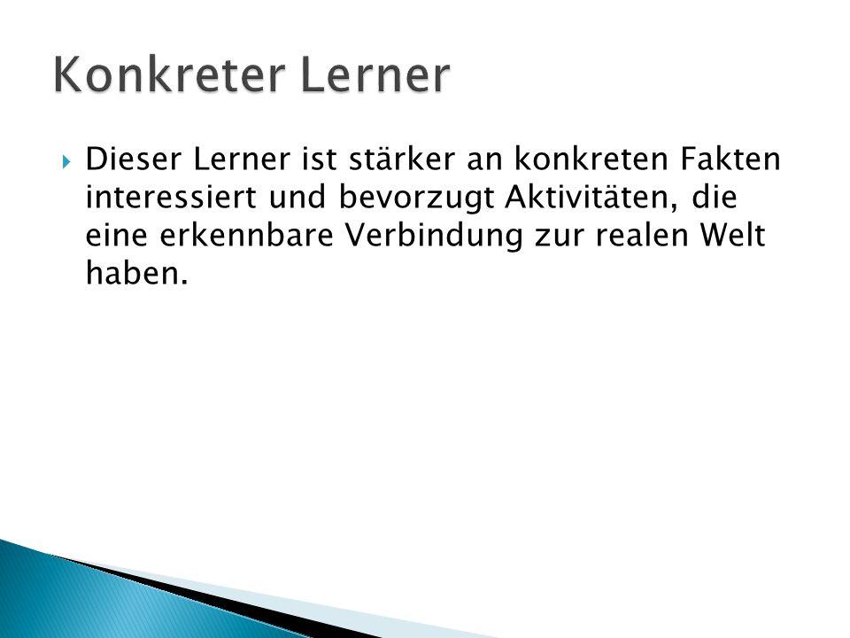 Konkreter Lerner