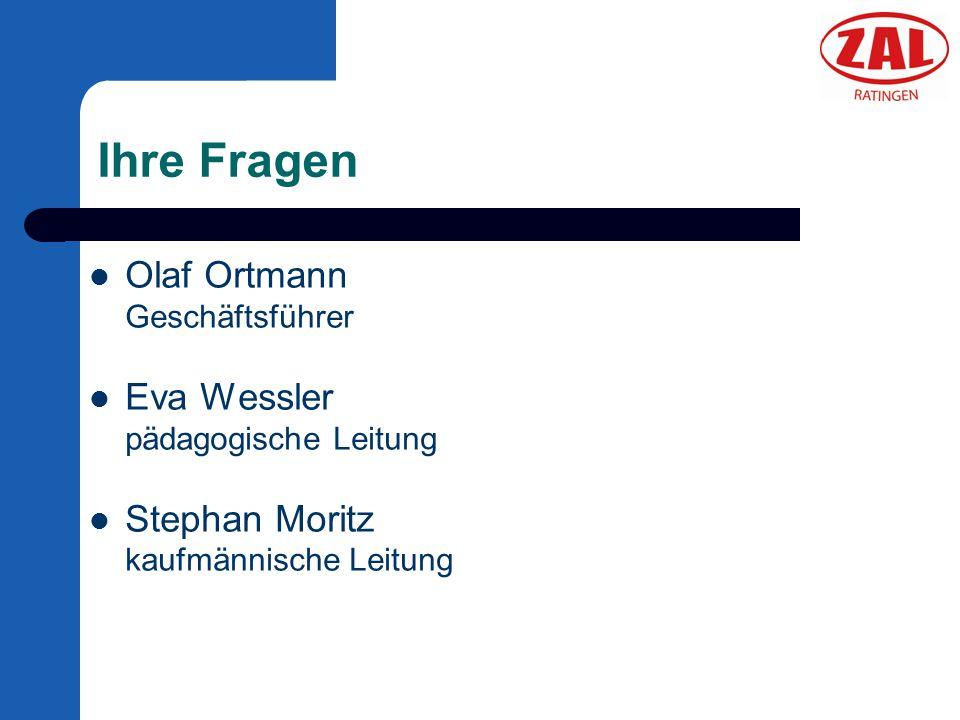 Ihre Fragen Olaf Ortmann Geschäftsführer