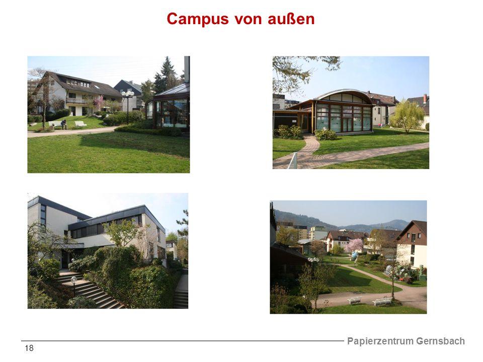 Campus von außen