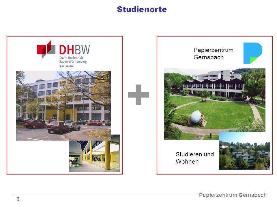 Studienorte Papierzentrum Gernsbach Studieren und Wohnen