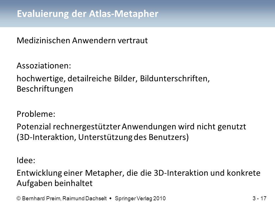 Evaluierung der Atlas-Metapher