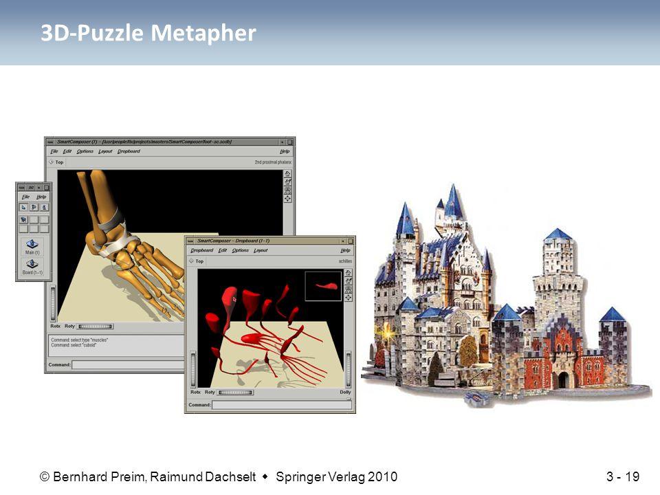 3D-Puzzle Metapher