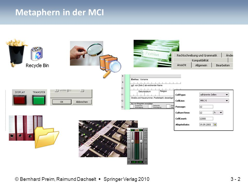 Metaphern in der MCI