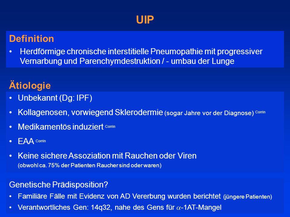 UIP Definition Ätiologie