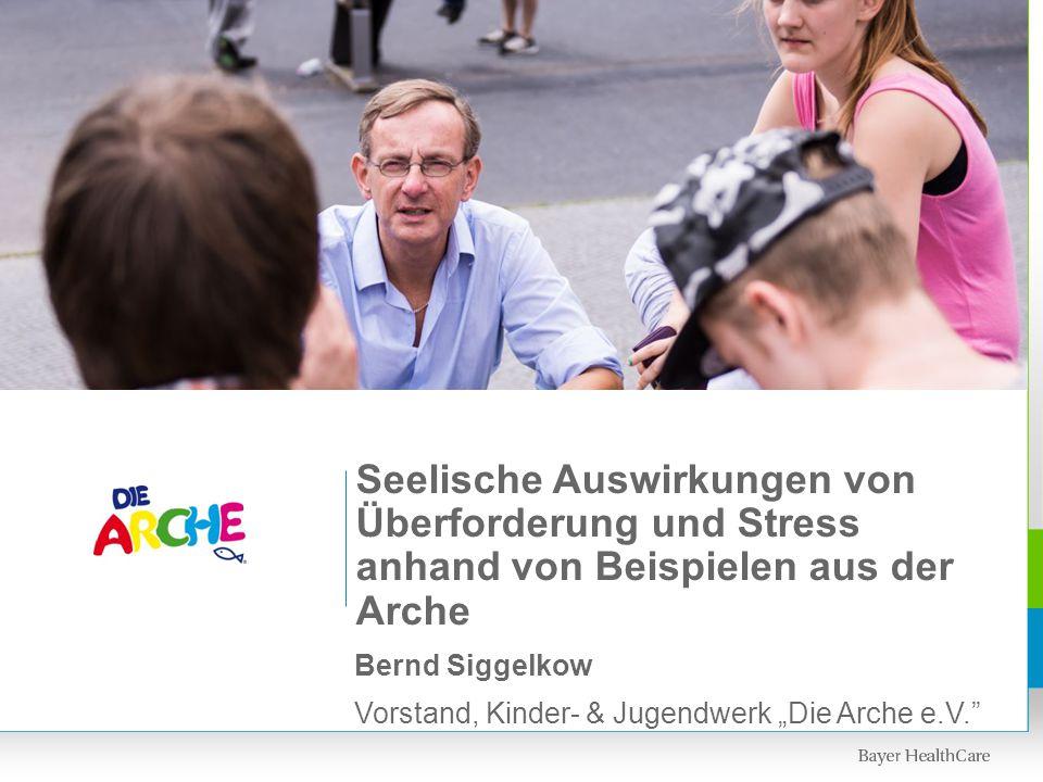 """Bernd Siggelkow Vorstand, Kinder- & Jugendwerk """"Die Arche e.V."""