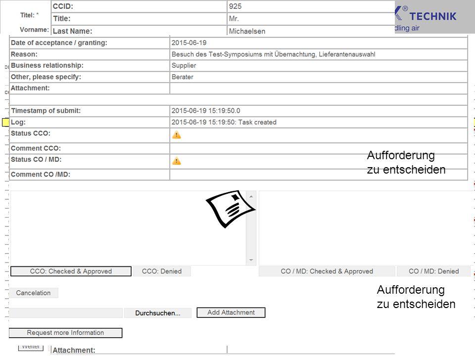 Vorstellung Meldeformular TROX GmbH