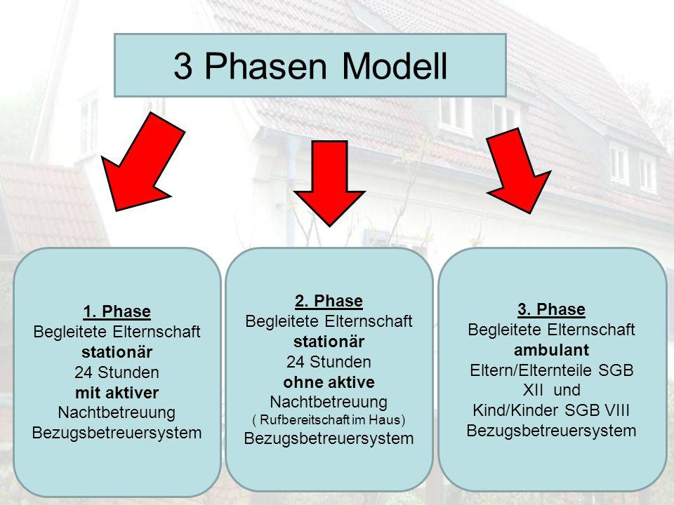 3 Phasen Modell 2. Phase 1. Phase 3. Phase Begleitete Elternschaft