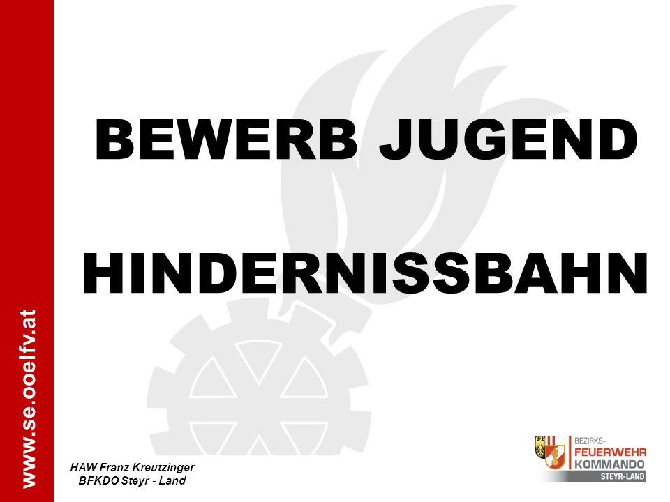 BEWERB JUGEND HINDERNISSBAHN