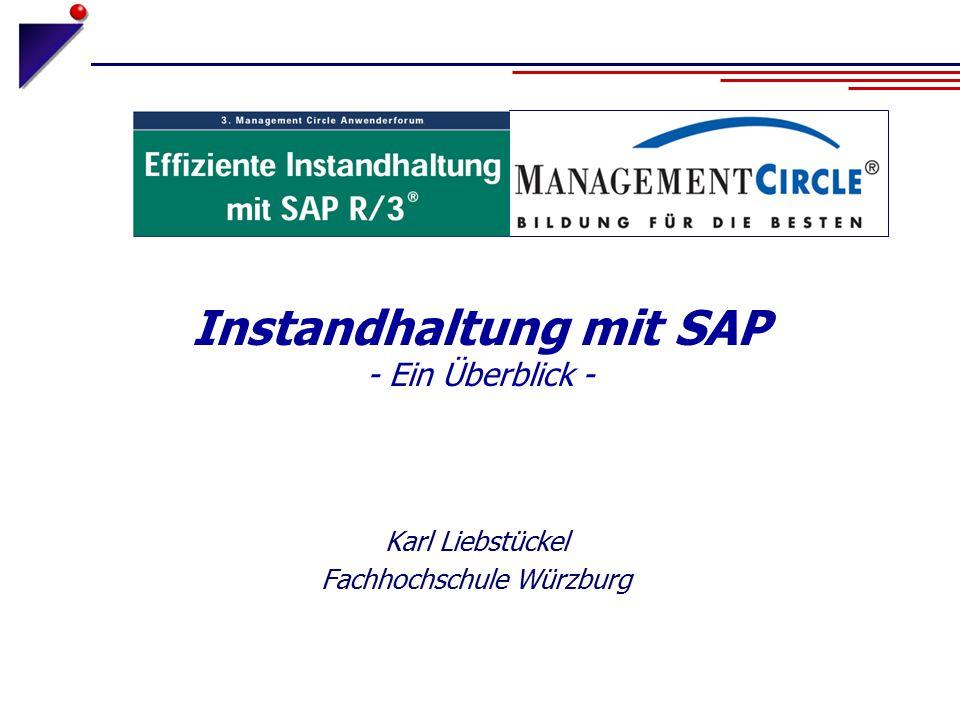Instandhaltung mit SAP - Ein Überblick -
