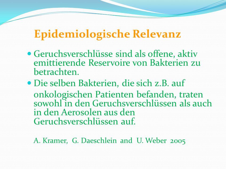Epidemiologische Relevanz