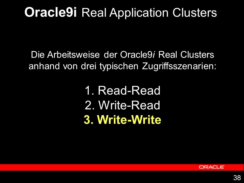 Oracle9i Real Application Clusters
