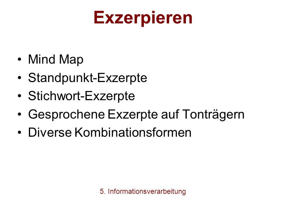 5. Informationsverarbeitung