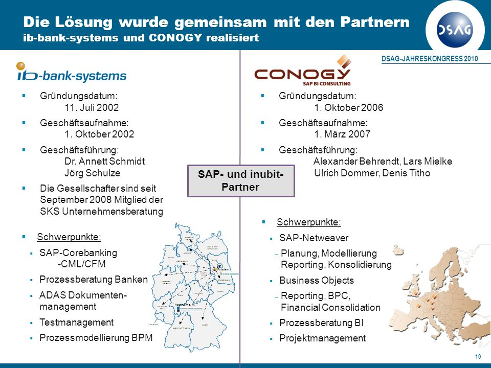 SAP- und inubit-Partner