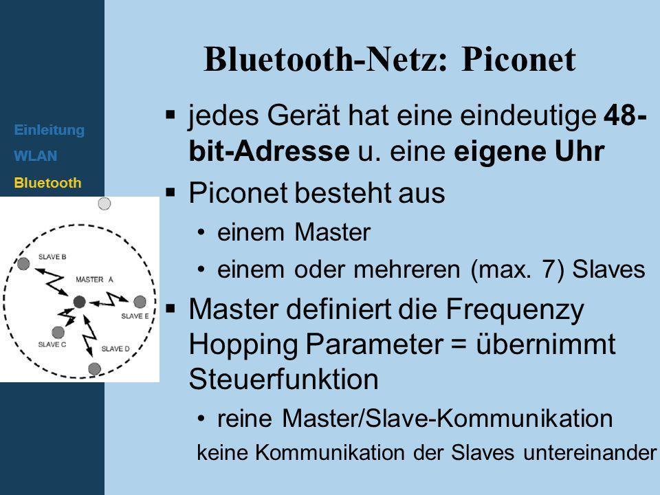 Bluetooth-Netz: Piconet