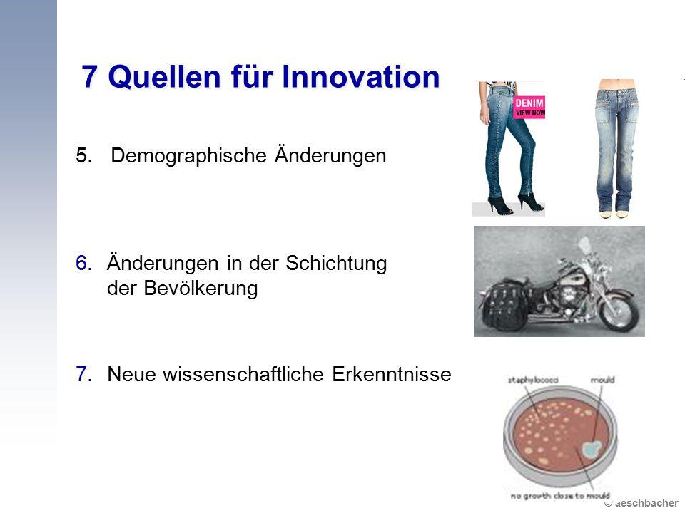 7 Quellen für Innovation