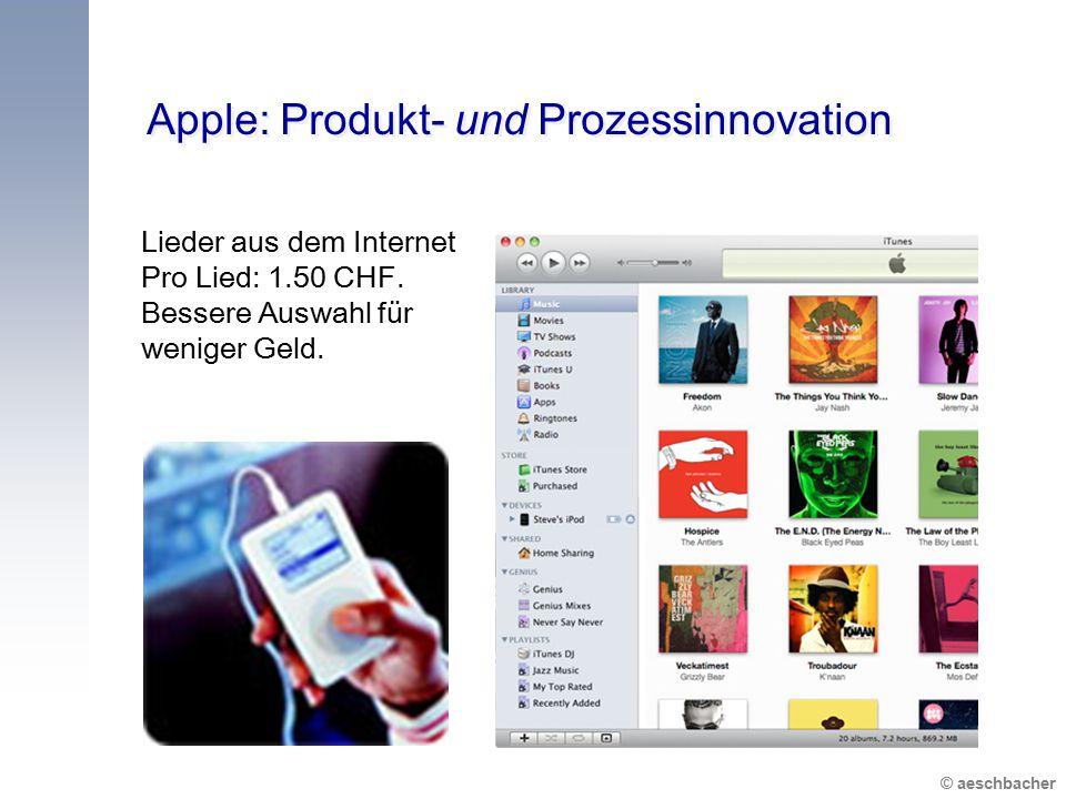 Apple: Produkt- und Prozessinnovation