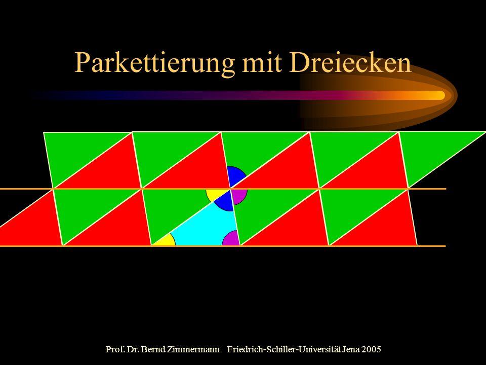 Parkettierung mit Dreiecken