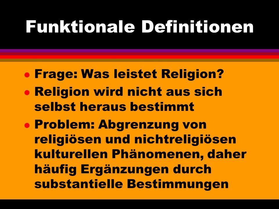 Funktionale Definitionen
