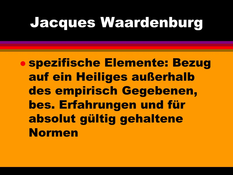 Jacques Waardenburg