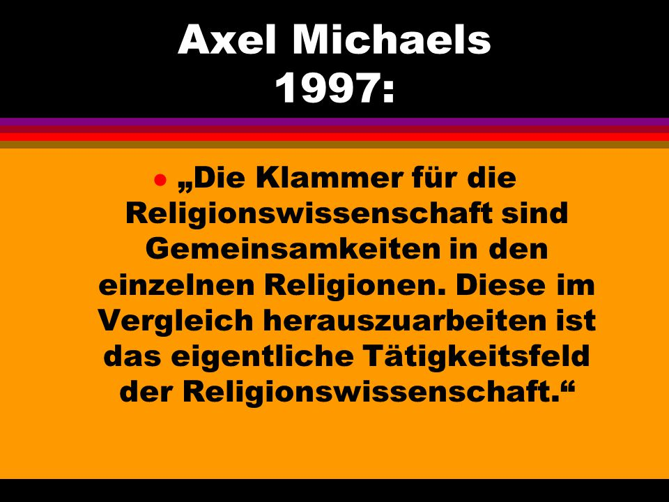 Axel Michaels 1997: