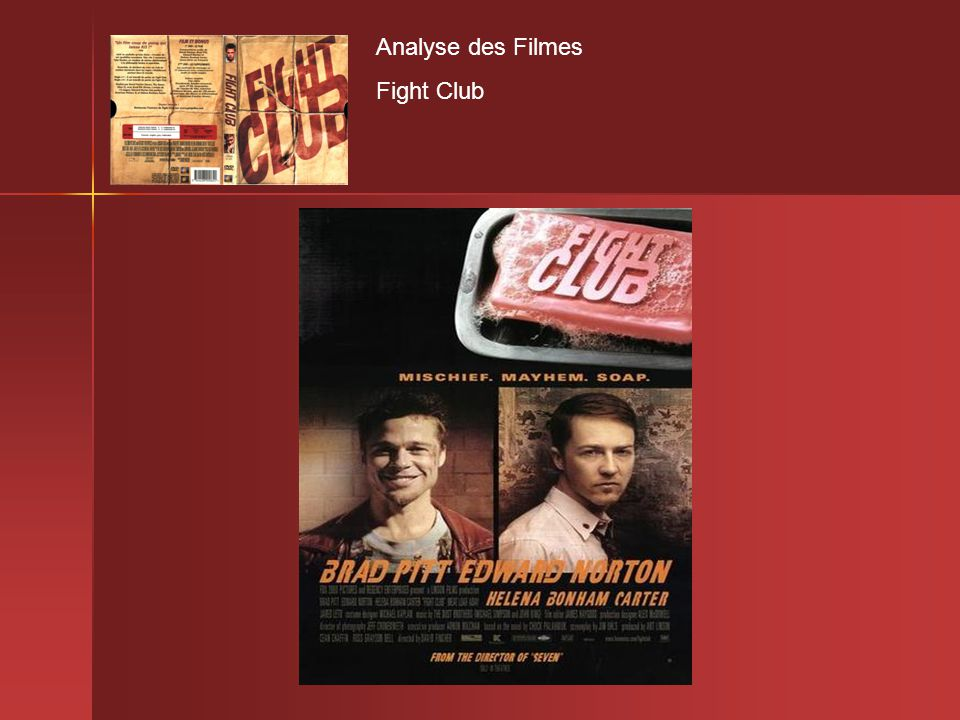 Analyse des Filmes Fight Club