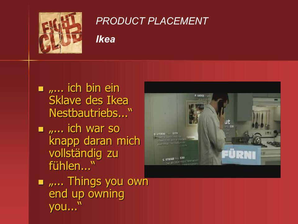 """""""... ich bin ein Sklave des Ikea Nestbautriebs..."""