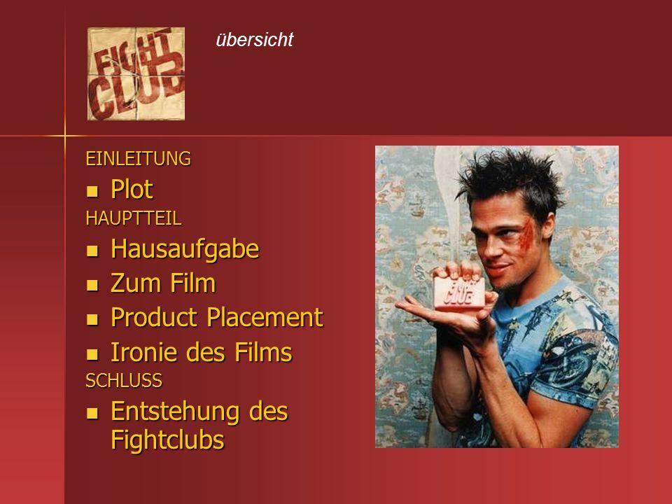 Entstehung des Fightclubs
