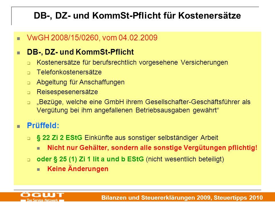 DB-, DZ- und KommSt-Pflicht für Kostenersätze