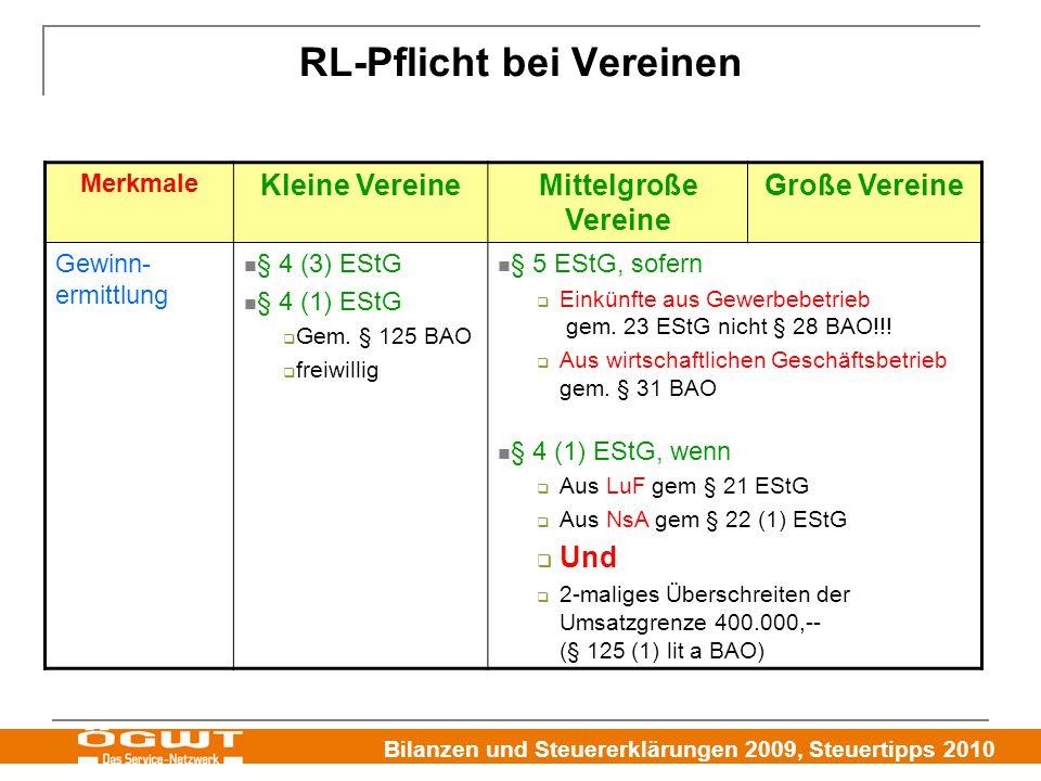 RL-Pflicht bei Vereinen