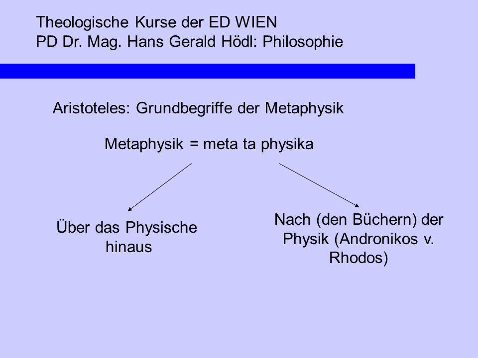Nach (den Büchern) der Physik (Andronikos v. Rhodos)