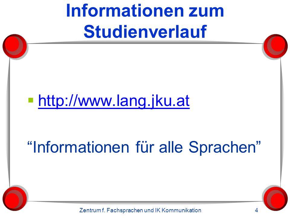 Sprachenangebot im 2. Abschnitt