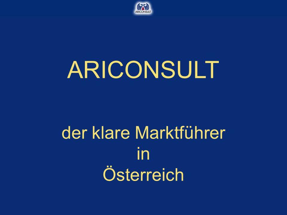 ARICONSULT der klare Marktführer in Österreich