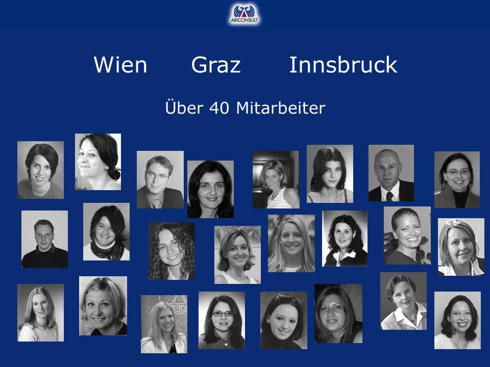 Wien Graz Innsbruck Über 40 Mitarbeiter