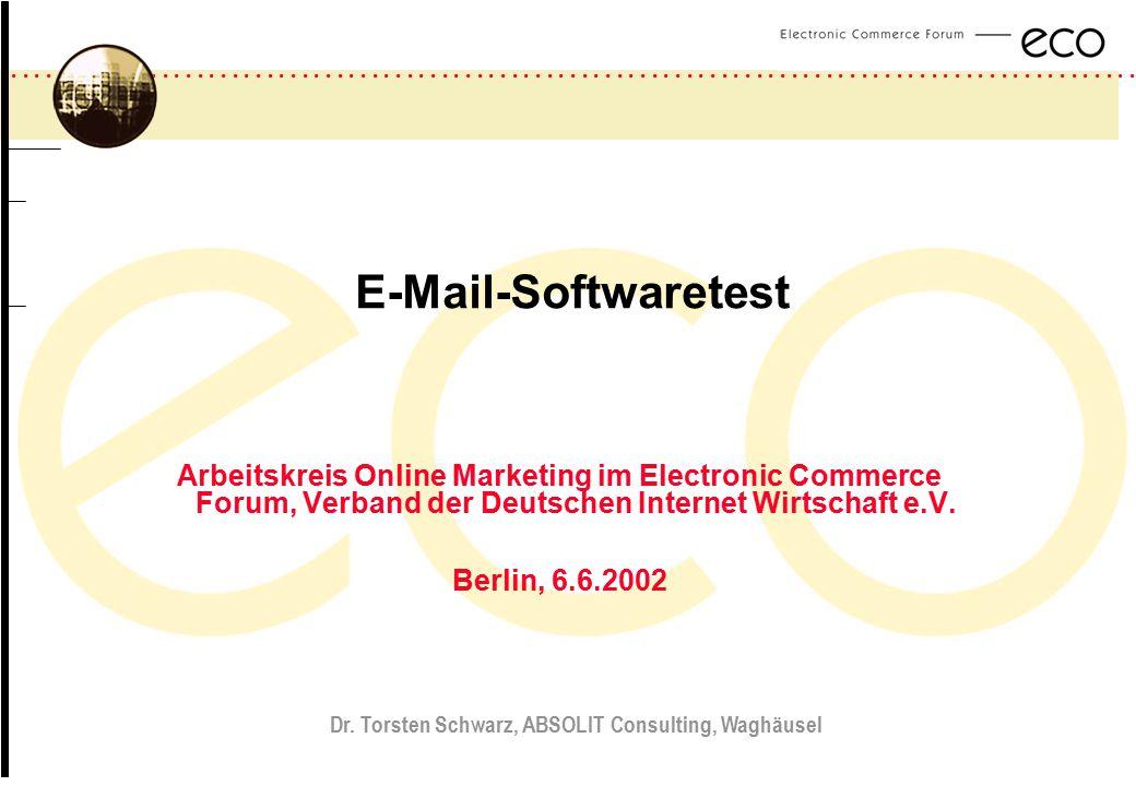 Dr. Torsten Schwarz, ABSOLIT Consulting, Waghäusel