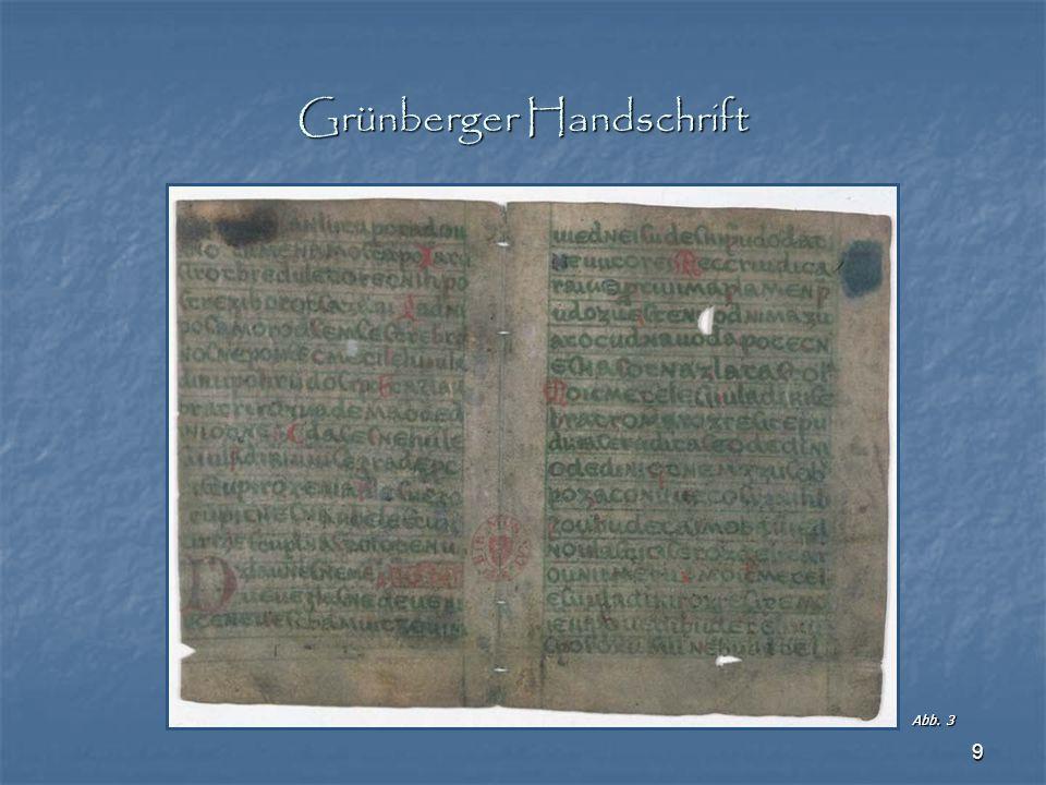Grünberger Handschrift