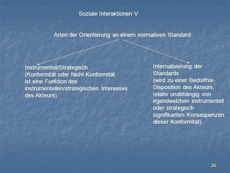 Soziale Interaktionen V