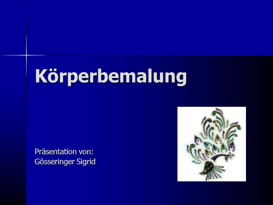 Präsentation von: Gösseringer Sigrid