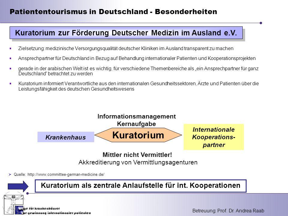 Kuratorium zur Förderung Deutscher Medizin im Ausland e.V.