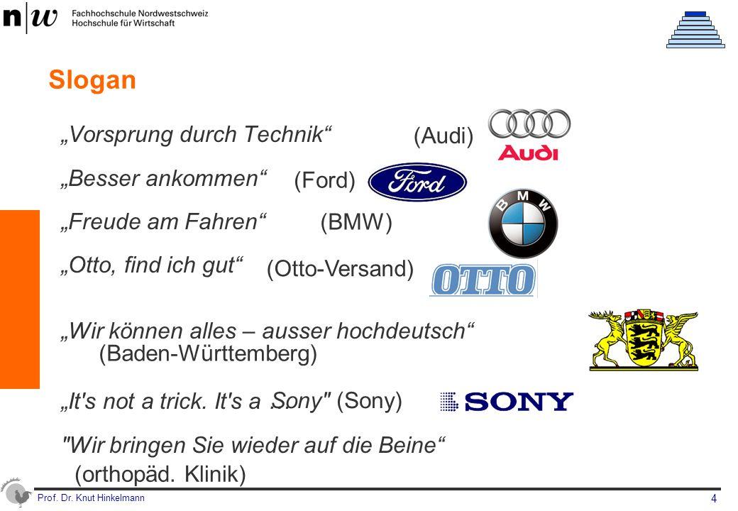 """Slogan """"Vorsprung durch Technik (Audi) """"Besser ankommen"""