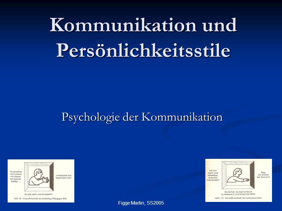 Kommunikation und Persönlichkeitsstile