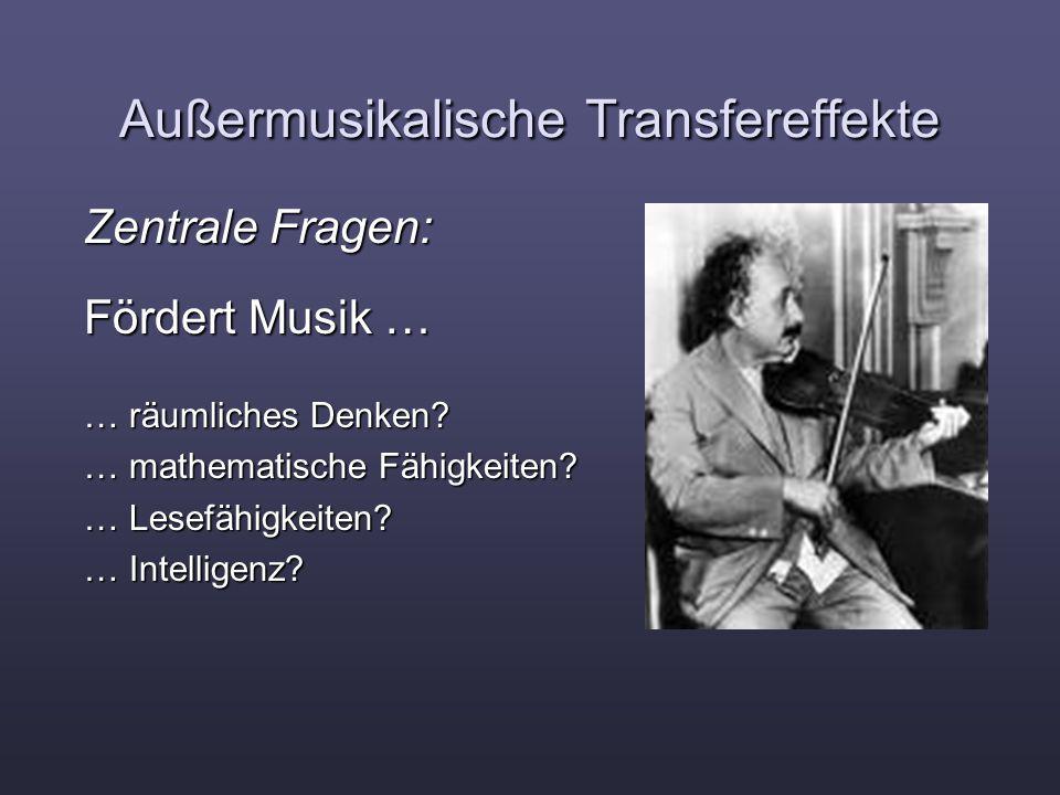 Außermusikalische Transfereffekte