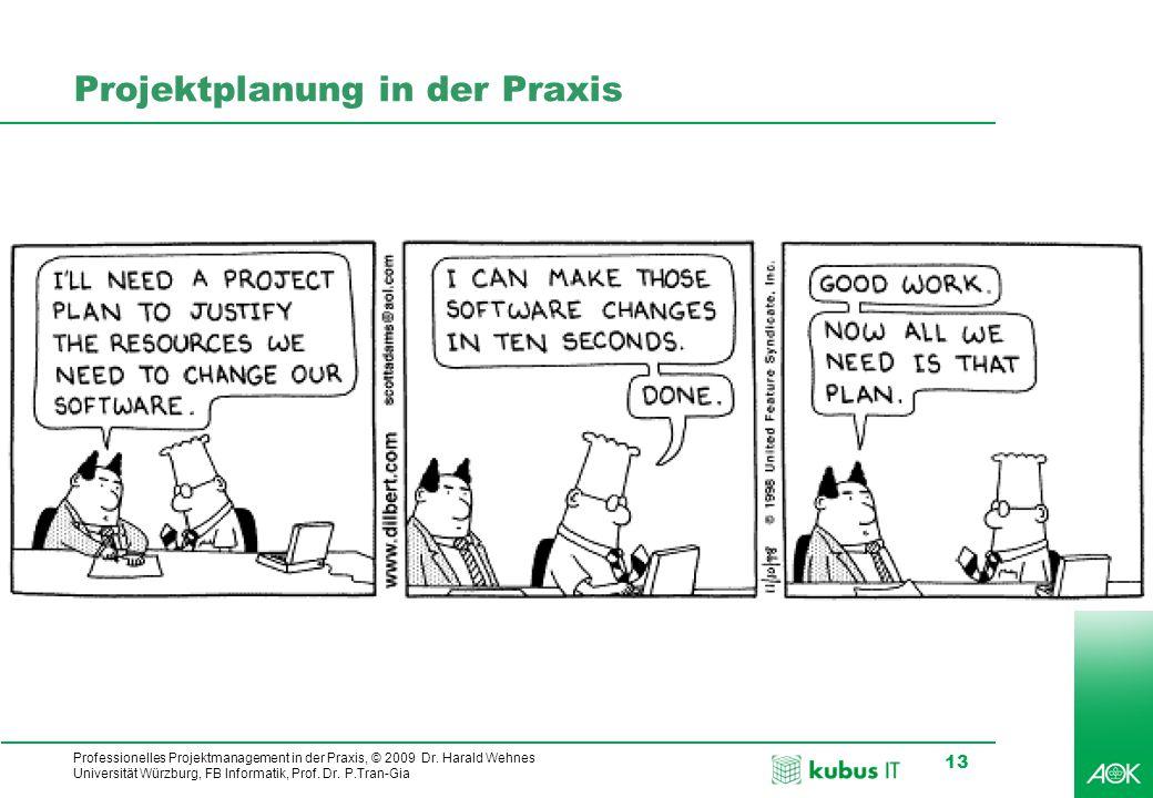 Projektplanung in der Praxis
