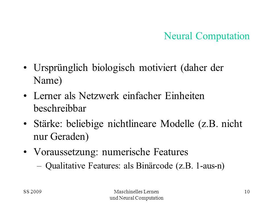 und Neural Computation