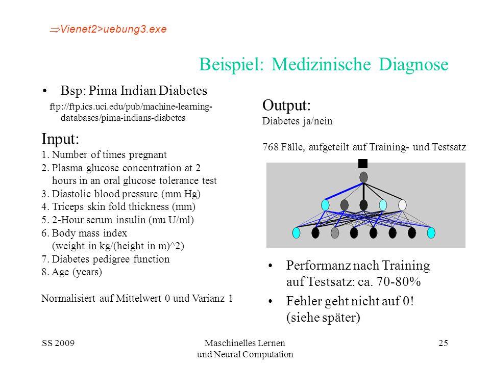 Beispiel: Medizinische Diagnose